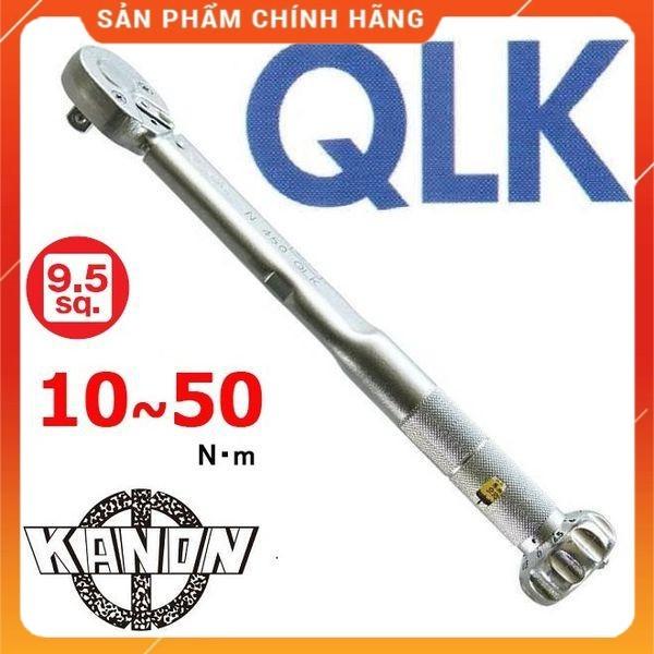 Cần xiết lực N50QLK Kanon Nhật - Cờ lê cân lực loại đặt lực trước Made in Japan