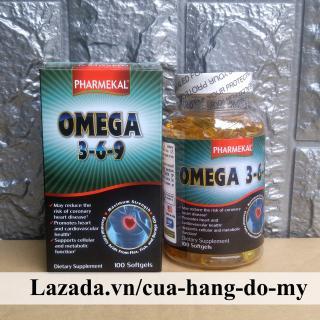 Viên uống Omega 369 Pharmekal 100 viên - Dầu cá 3-6-9 thumbnail