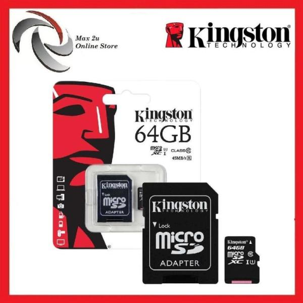 Thẻ nhớ kingston Micro SD 64G ( Hàng Chính Hãng ) Bảo Hành 36th