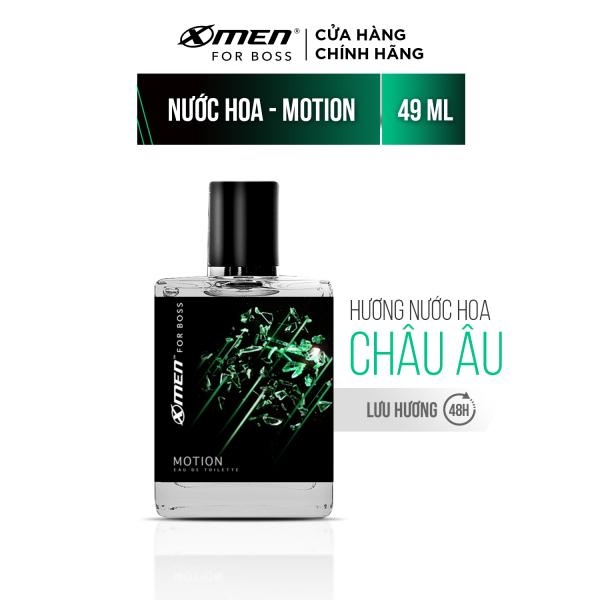 Nước hoa EDT X-Men for Boss Motion - Mùi hương năng động phóng khoáng 49ml giá rẻ