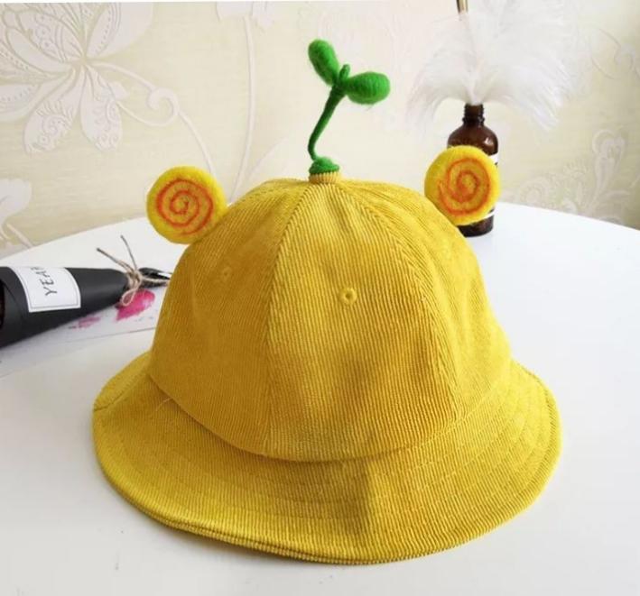Mũ mầm cây tai xoắn hàng có sẵn kèm ảnh thật( mua nhiều có giảm)