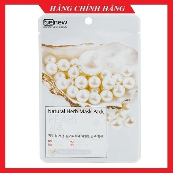 Mặt nạ ngọc trai dưỡng trắng da mặt BENEW Hàn quốc 22ml/gói- mỹ phẩm chính hãng