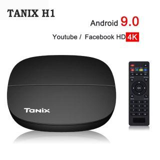 Android TV Box Tanix H1 Android 9.0 4K UltraHD - Hàng Chính Hãng