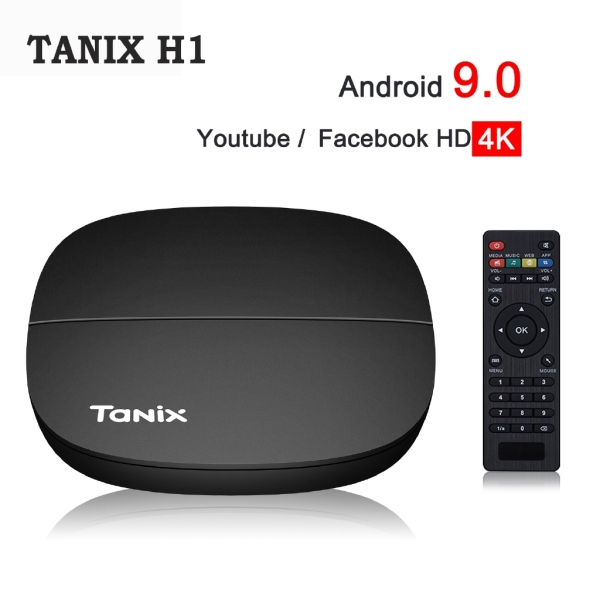 Bảng giá Android TV Box Tanix H1 Android 9.0 4K UltraHD - Hàng Chính Hãng Điện máy Pico