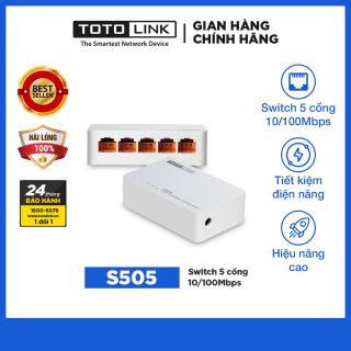 Switch 5 cô ng 10 100Mbps S505 - TOTOLINK thumbnail