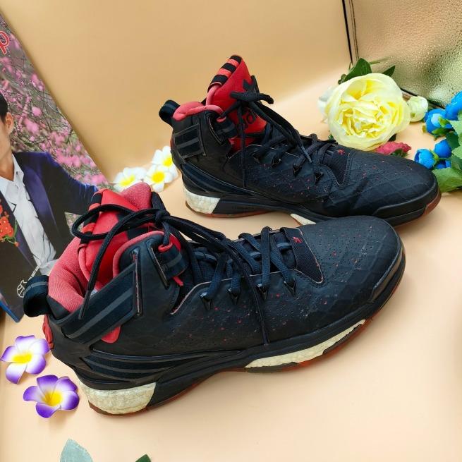 Giày thể thao bóng rổ nam si tuyển hiệu Adi-das D Rose 6 Boost S84944 S43-44 giá rẻ