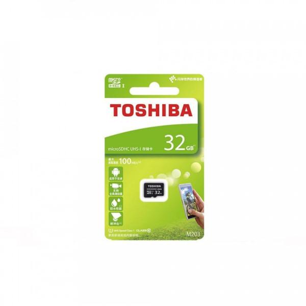 (CHÍNH HÃNG 100% BẢO HÀNH 5 NĂM) Thẻ nhớ Toshiba 32GB MicroSDHC UHS-I U1 100MB/s