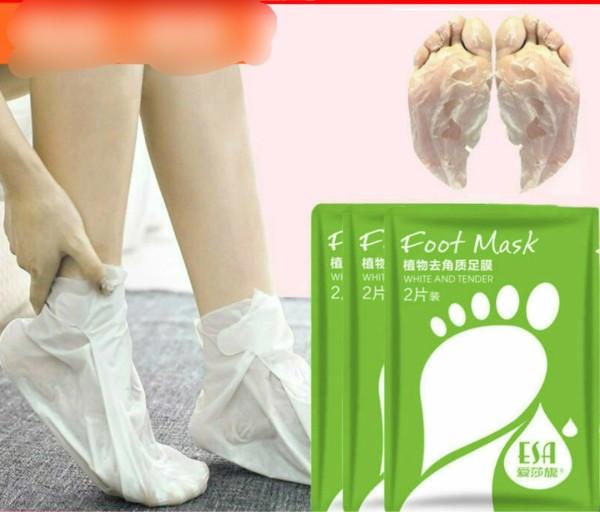 Mặt Nạ. Ủ Lột Bàn Chân Foot Mask ESA cao cấp