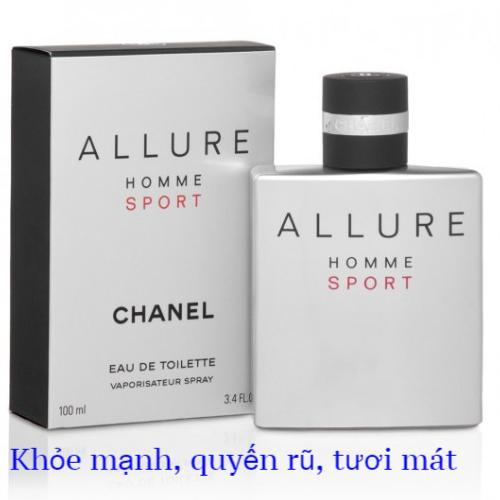 Nước hoa nam Chanel Allure Homme Sport Eau de toilette 100ml