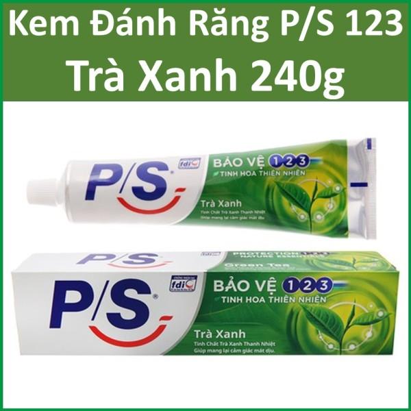 Kem đánh răng P/S 123 Trà xanh 240g