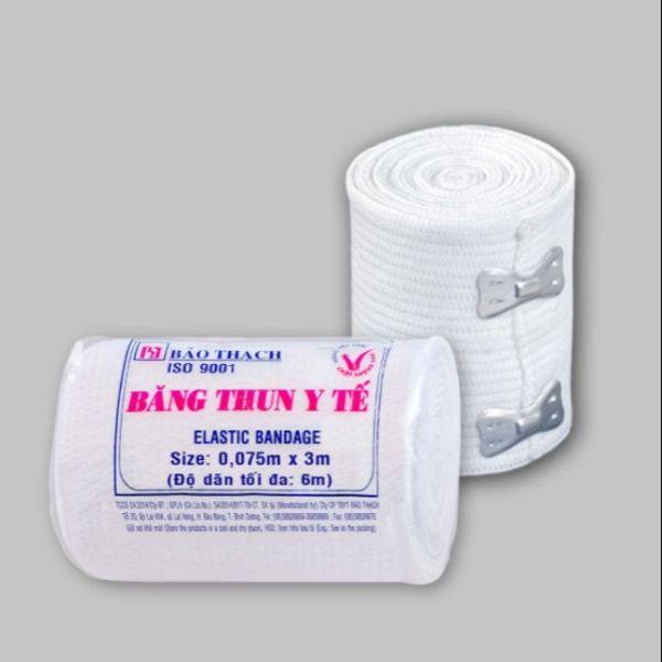 Băng thun y tế Bảo Thạch 2 móc