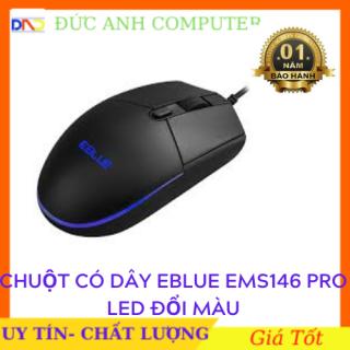 Chuột máy tính chuột Eblue mã EMS146 PRO có Led - dành cho game thủ - chính hãng 100% cam kết sản phẩm đúng mô tả chất lượng đảm bảo thumbnail
