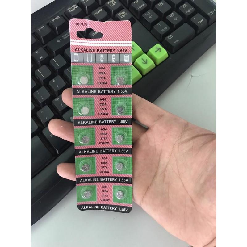 Nơi bán Vỉ pin đồng hồ phổ thông AG4 - 626 - 377A