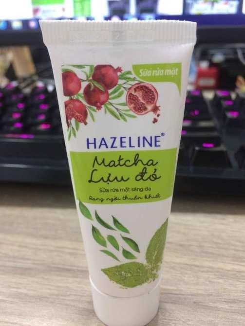 Combo 50 tuýt sữa rửa mặt Hazeline + Tặng 1 ví cầm tay xinh xắn