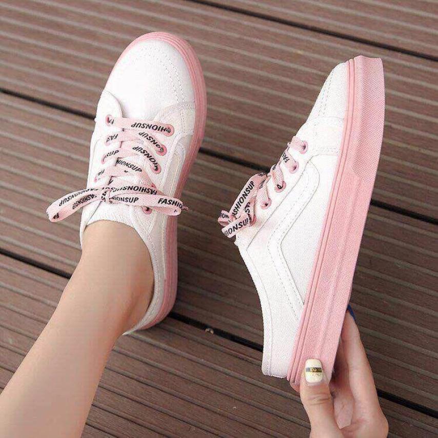 Giày sục thể thao cột dây nữ hot trend giá rẻ
