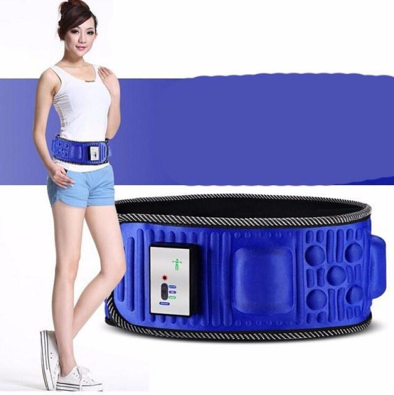 Đai massage, máy tập bụng X6, Máy matxa giảm mỡ bụng Tặng kem thước dây