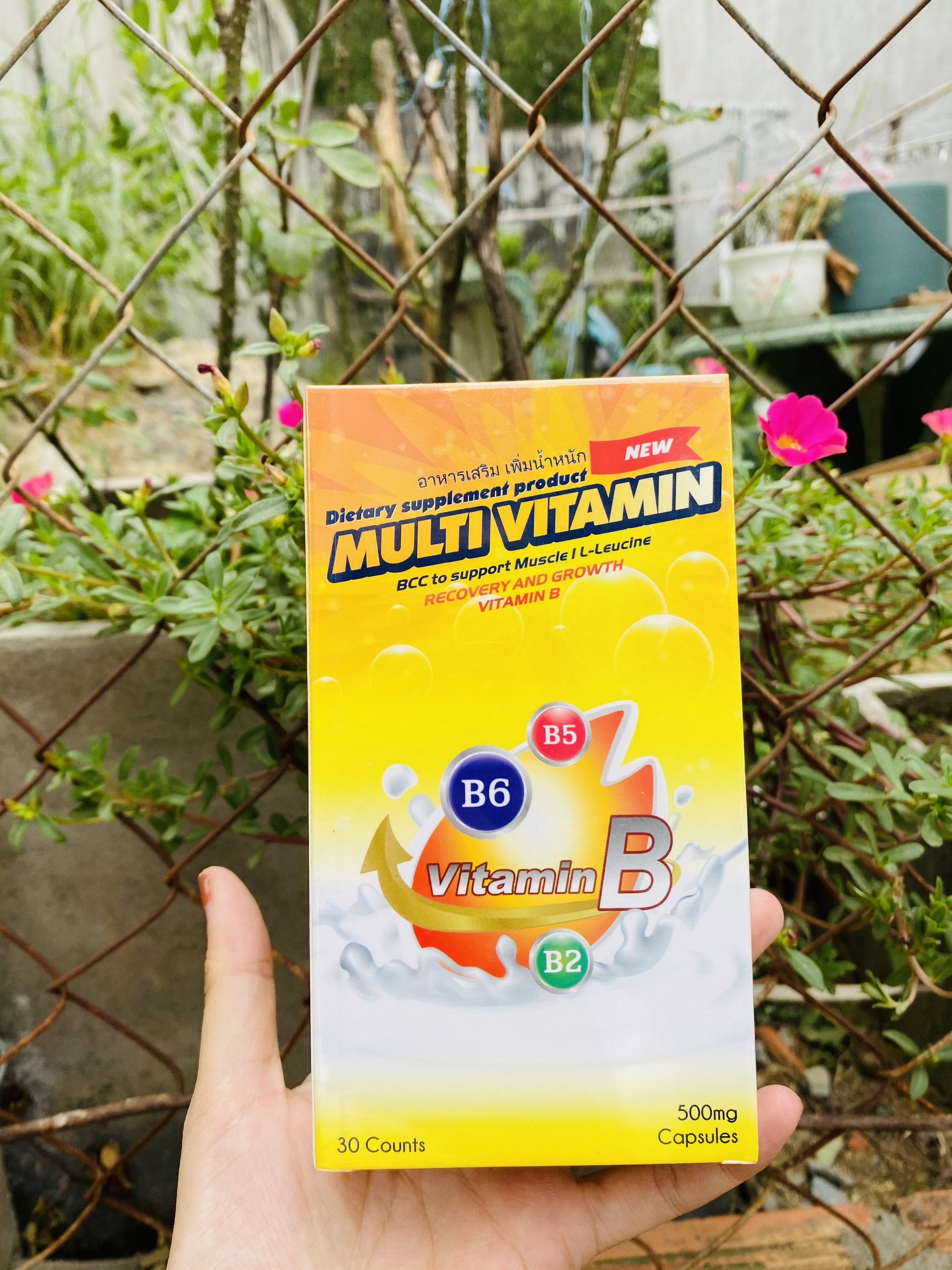 Tăng cân Multi Vitamin
