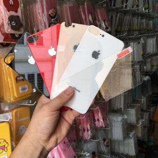 Kính cường lực mặt sau cho các dòng Iphone 6 6plus 7 7plus 8 8plus X Xr Xsmax 11 11pro 11promax sản phẩm đang được săn đón chất lượng đảm bảo và cam kết hàng đúng mô tả thumbnail