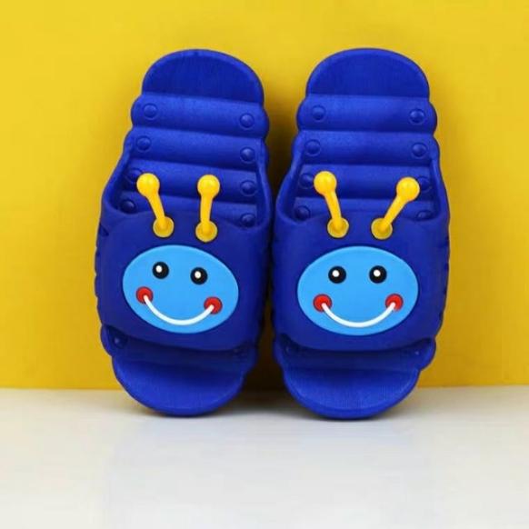 Dép Quai Ngang Sâu Con Đáng Yêu Cho Bé Trai Bé Gái - Dép Cho Bé - Shop Miho Shoes giá rẻ