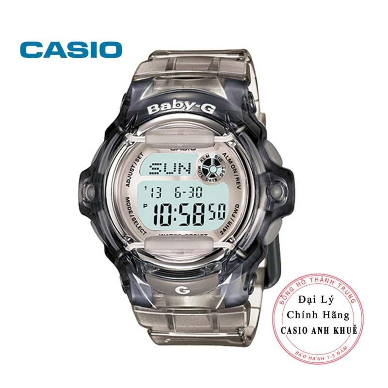 Đồng hồ nữ điện tử Casio BabyG BG-169R-8HDR dây nhựa