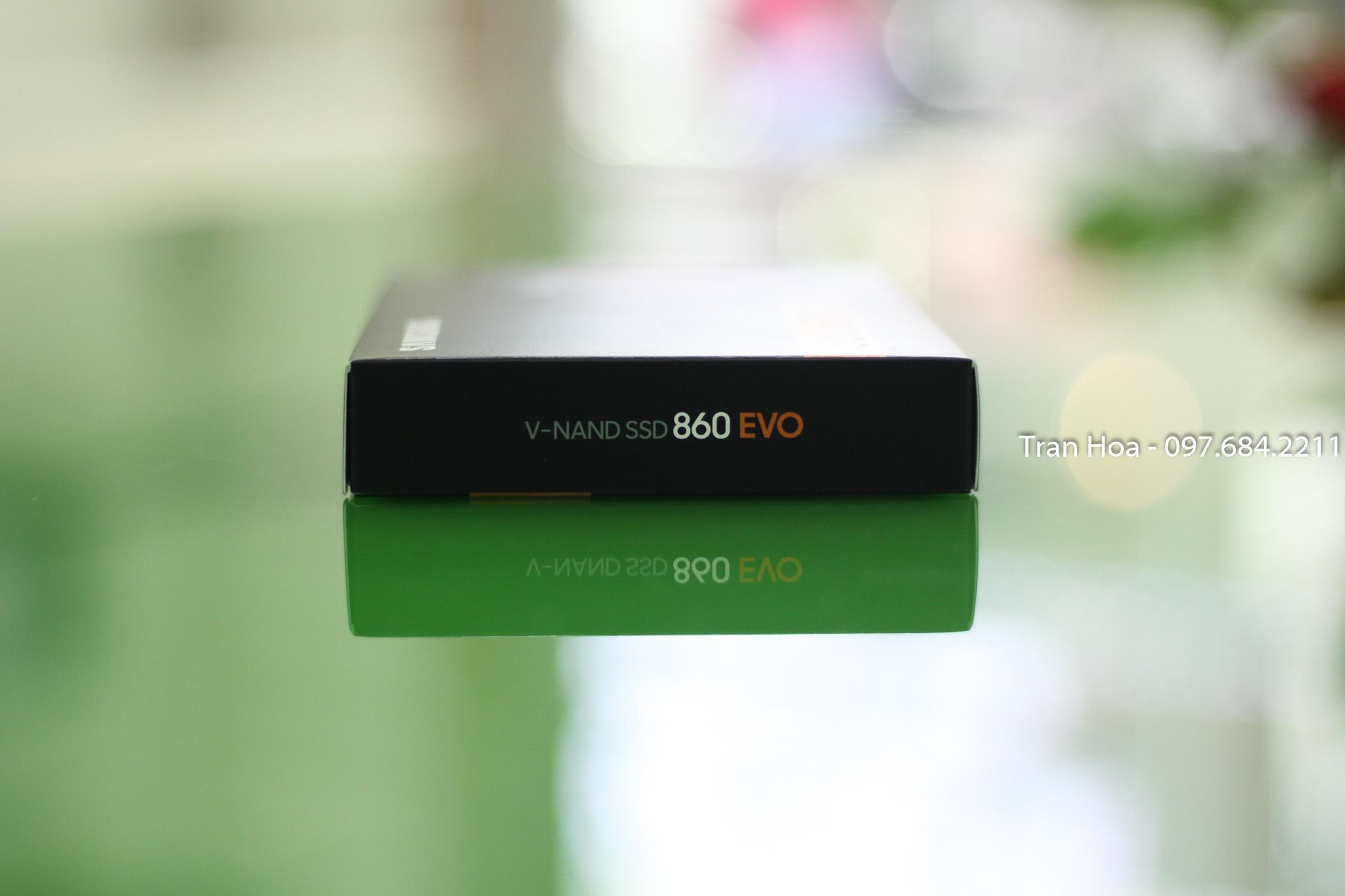 Ổ cứng SSD 250GB,500GB Samsung 860 EVO 2.5-Inch SATA III bảo hành 60 tháng 1 đổi 1