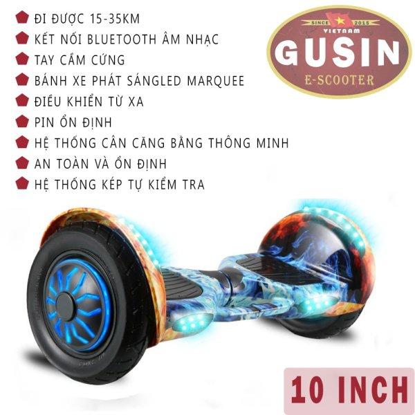 Giá bán [HCM]xe tự cân bằng 10inch chính hãng GuSin - mới nhất thị trường - đủ màu