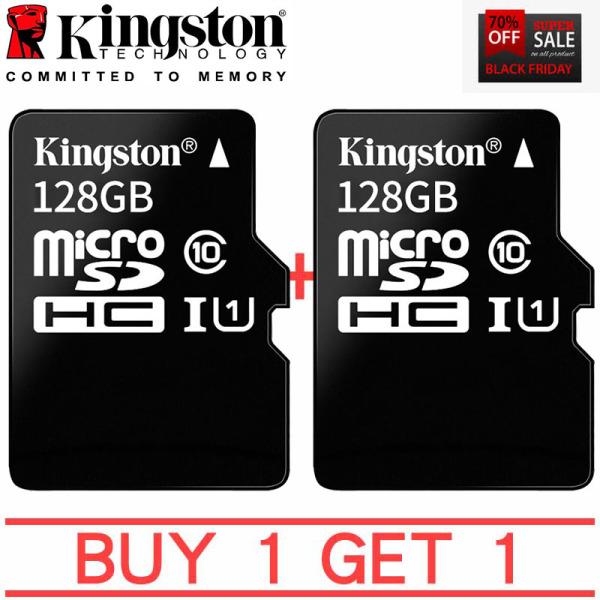 kingston Hot Bán Thẻ Nhớ Micro Sd 128Gb Thẻ Nhớ Microsdxc 128Gb Mua 1 tặng 1