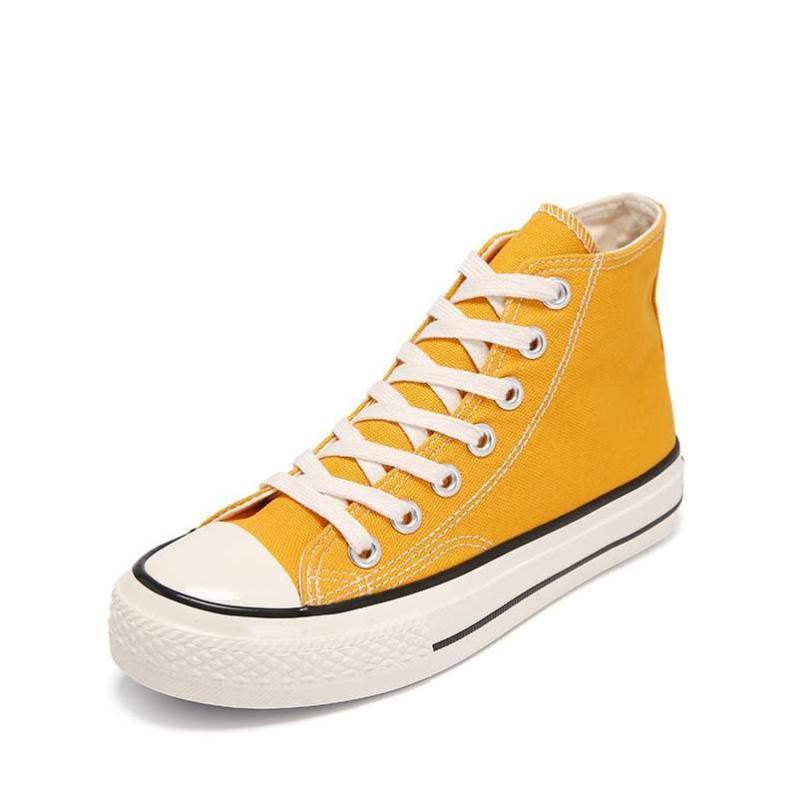 Giày thể thao nữ ngôi sao cao cổ - giày nữ sneaker giầy bata trắng đen đỏ vàng đi học thời trang ullzang hàn quốc giá rẻ dưới 100k đẹp hot 2020 giá rẻ