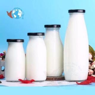 Bình thủy tinh đựng sữa 500ml thumbnail