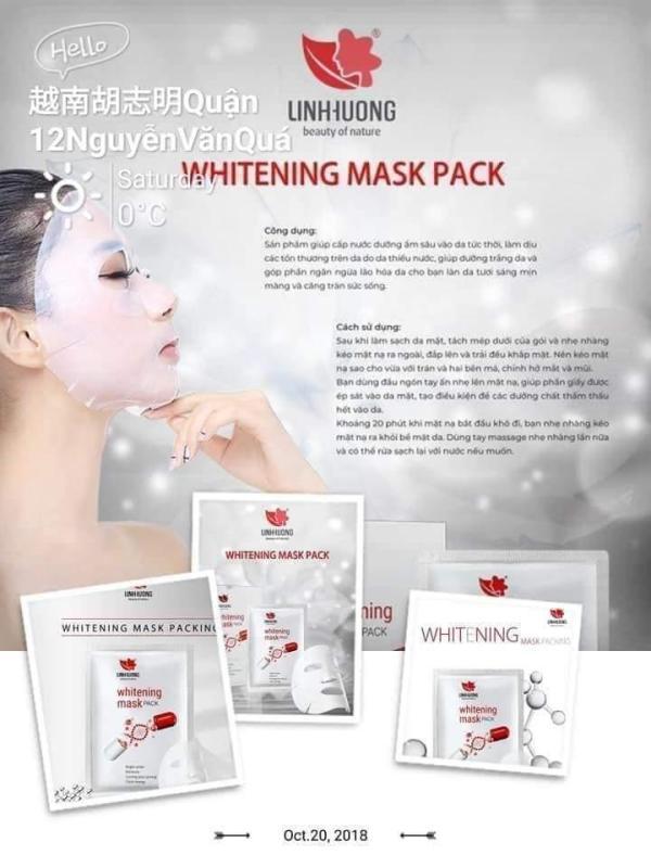 Mặt Nạ collagen Linh Hương cao cấp