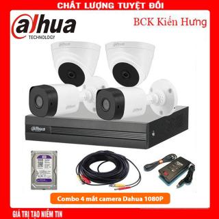 Trọn bộ 4 camera Dahua Full HD 1080p + HDD 500G-DS-7104HGHI-F1-đầu ghi camera-đầu ghi camera 4 kênh-đầu ghi camera hikvision thumbnail