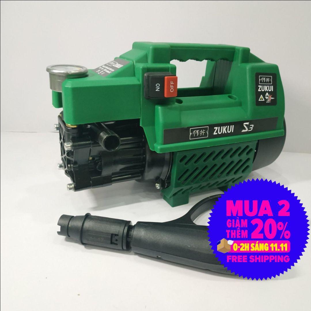 Deal Khuyến Mãi Máy Xịt Rửa Xe Mini Gia đình Zukui S3 - 2000W