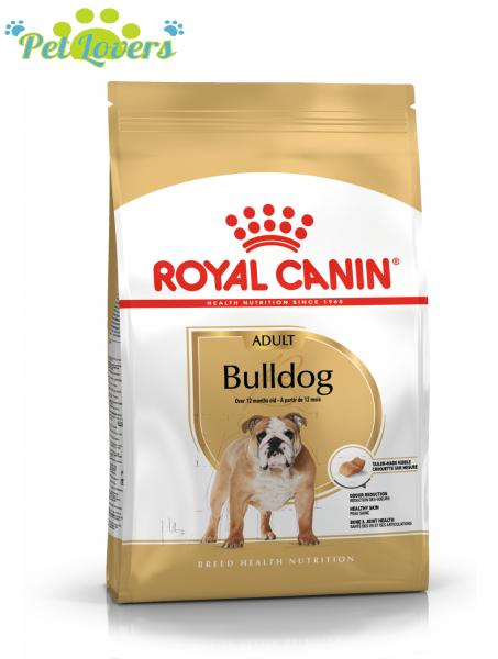 Royal Canin Bulldog Adult 3kg Thức ăn cho chó Pulldog trưởng thành