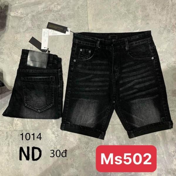 Nơi bán Quần short jean nam mẫu mới 2021, chất vải bò cao cấp,màu đen rách xước vẩy sơn, đẹp giá rẻ thời trang