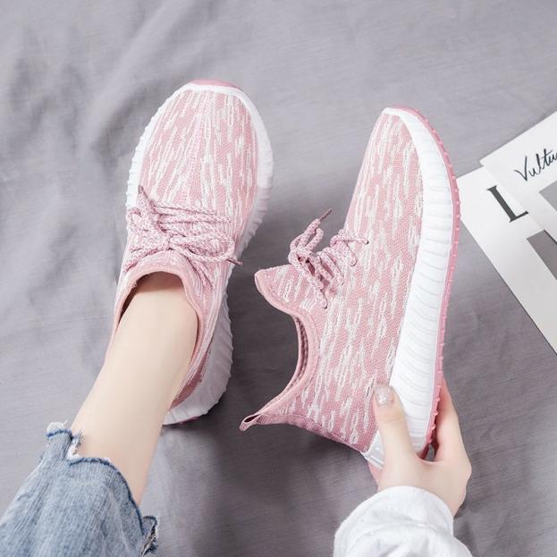 [ FREE SHIP ] Giaỳ nữ sneaker hot 2020 mang đi học, đi chơi hay chơi thể thao đều đẹp và tôn dáng dễ phối đồ giá rẻ, giày bata nữ mang leo núi, tập gym cực êm chân và thoải mái - ABCD SHOP giá rẻ
