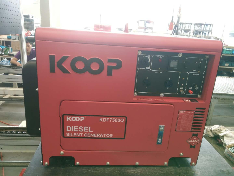 Máy Phát Điện Chạy Dầu 5kVA Koop KDF6700Q