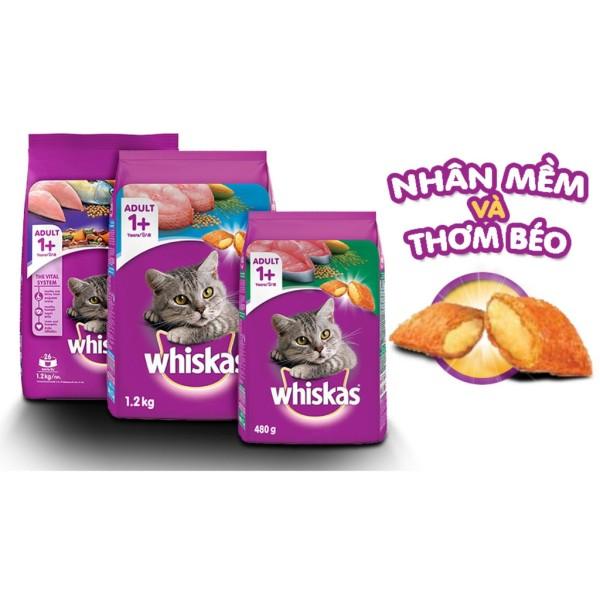 Thức ăn cho mèo Whiskas 1,2kg Thái Lan