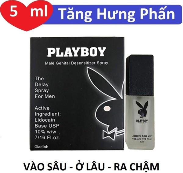 Chai xịt hỗ trợ chống xuất tinh sớm Playboy 5ml