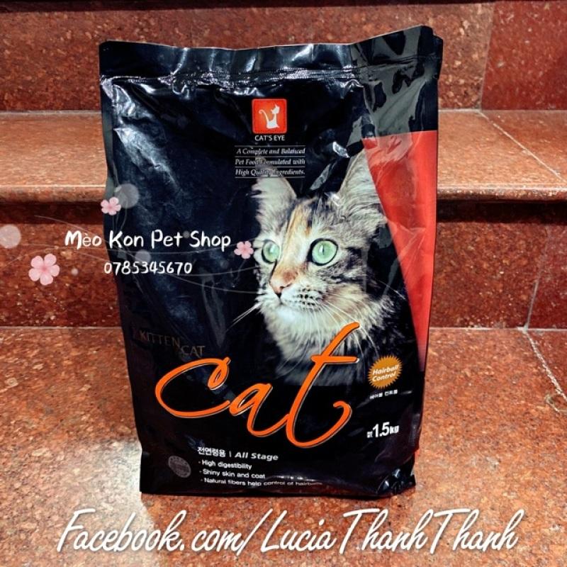 Thức ăn hạt khô cho mèo Cat's Eye bịch 1.5 kg