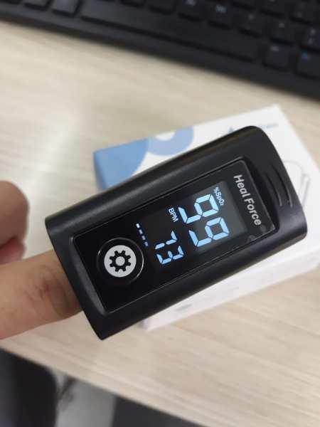 Máy đo nồng độ oxy trong máu SpO2 Heal Force 100N bán chạy