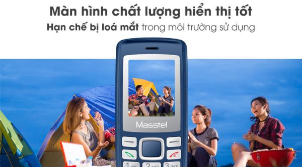 Điện thoại Masstel IZI 120 - Chính hãng (bảo hành 12 tháng)