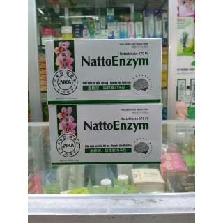 NattoEnzym - phòng ngừa tai biến và đột quỵ hộp 3 vỉ x10 viên thumbnail