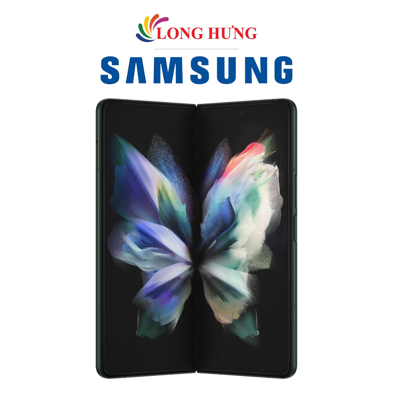 Điện thoại Samsung Galaxy Z Fold3 5G (12GB/512GB) - Hàng Chính Hãng - Màn hình lớn, thiết kế mới mẻ, Chipset cực khủng