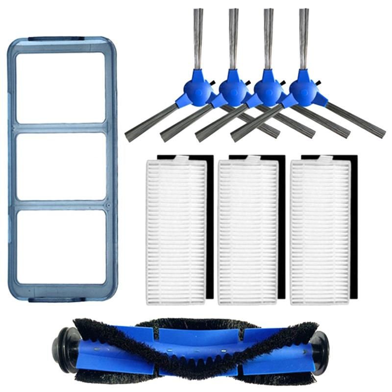 Roller Brush + Side Brush + Hepa + Primary Filter For Eufy 11 S Robovac 30 Robovac 30C 15C Vacuum Cleaner Sweeper Accessories