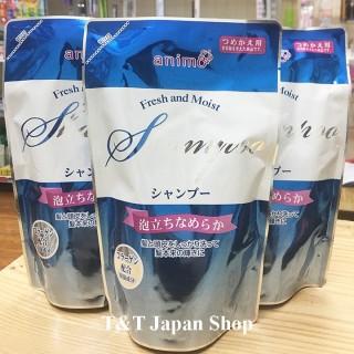 Dầu gội đầu dưỡng ẩm Animo Nhật Bản 300ml hương hoa tươi mát thumbnail