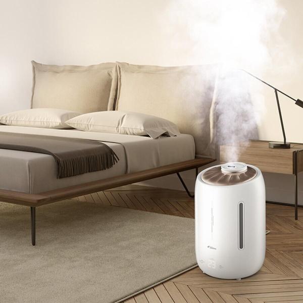 [ CHÍNH HÃNG] Máy Tạo ẩm DEERMA F600, Bù ẩm, Phun sương, Khuếch tán tinh dầu Êm Ái,