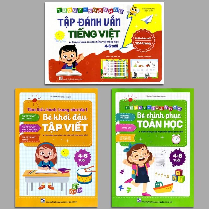 Sách - Hành Trang Cho Một Khởi Đầu Hoàn Hảo 4-6 Tuổi (Bộ 3 Quyển, Lẻ Tùy Chọn) - Bé Chinh Phục Toán H