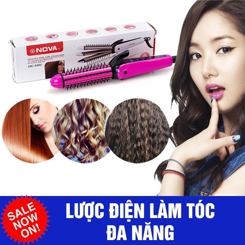 Máy làm tóc- lược điện đa năng 3 in 1 giá rẻ