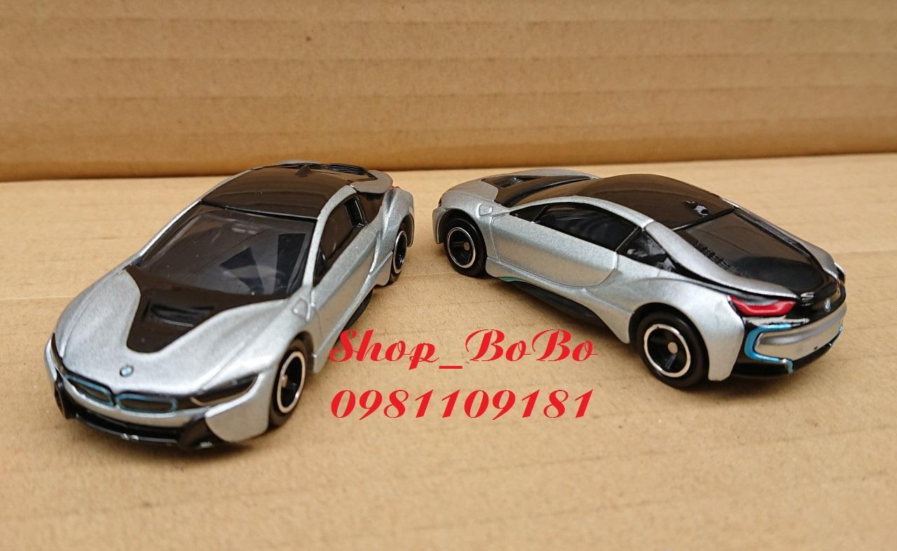 Mã Tiết Kiệm Để Mua Sắm Xe Mô Hình Tomica - Xe BMW I8 Màu Bạc