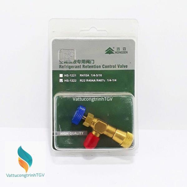 Bảng giá Van khóa chống bỏng Gas R22 HS-1222 (xanh) Điện máy Pico